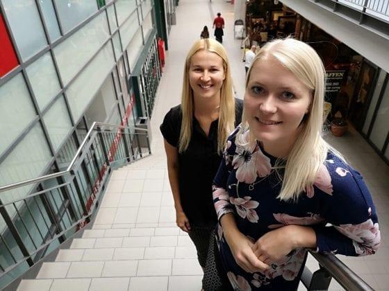 Cecilie Falk (foran) og Sarah Seacrest står klar til at hjælpe HR-ON til yderligere ekspansion.