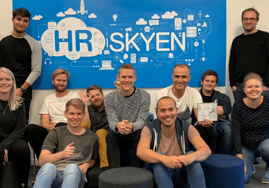 Teamet bag HR-ON (tidl. HR-Skyen) har været med til at skabe vækst i it-virksomheden.