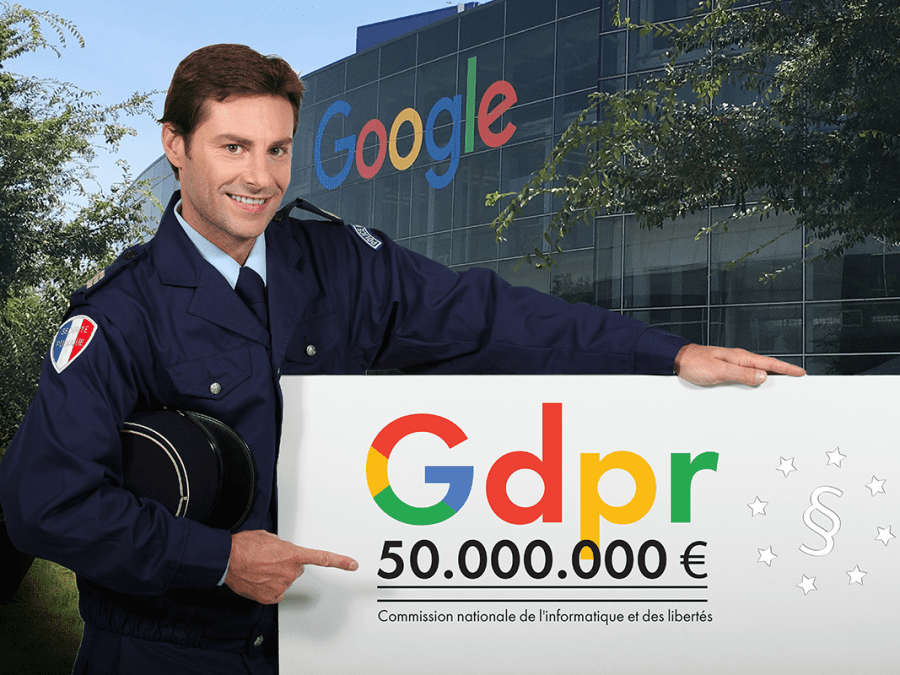 Google fined for GDPR violations