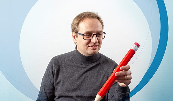 HR-ONs CTO Christian Hansen coming up with clever ideas