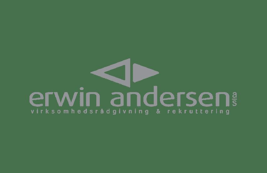 Logo af Erwin andersen
