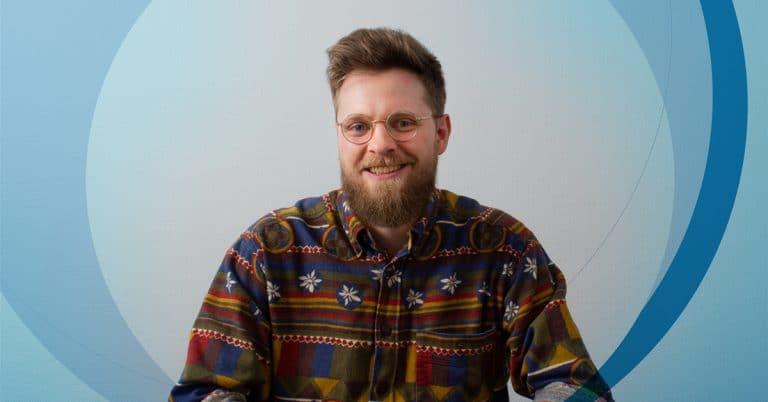 Portræt billede af en Kasper Urban Kajgaard