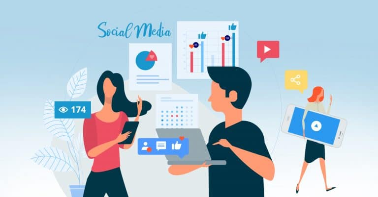 Find din nye ansatte på Sociale Medier