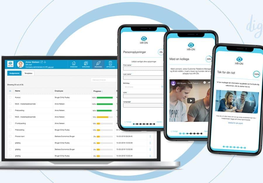 HR-ON staff løser dine HR-opgaver digitalt