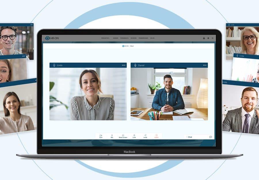 HR-ONs nye videofunktion til online jobsamtaler