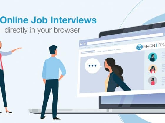 Job interviews online - directly in your browser