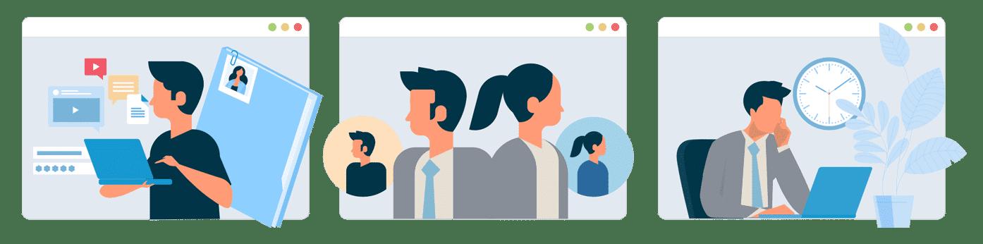 Gennemfør rekrutteringer online
