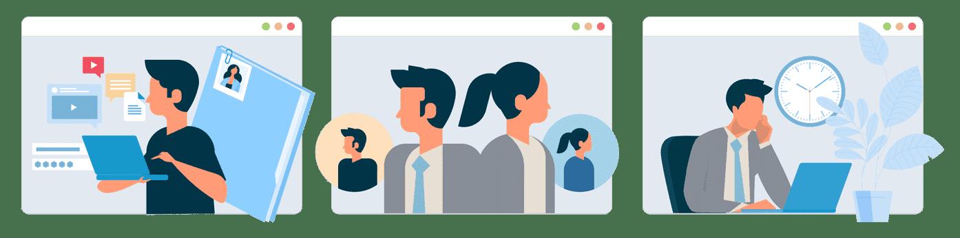 Fordele ved online Jobsamtale