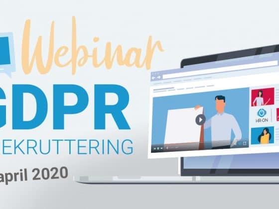 GDPR-webinar med Focus Advokater