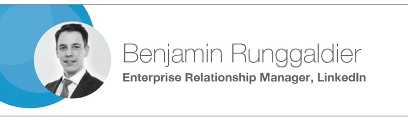 Benjamin Runggaldier from LinkedIn