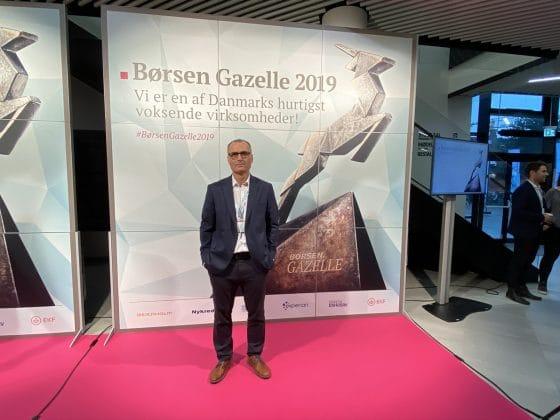 HR-ON modtager Børsens Gazelle