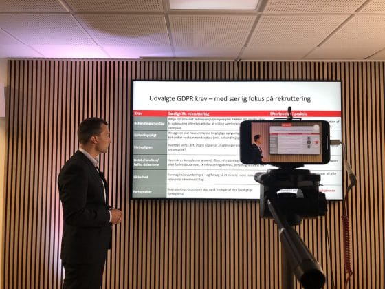 HR-ON og Focus Advokater GDPR Webinar