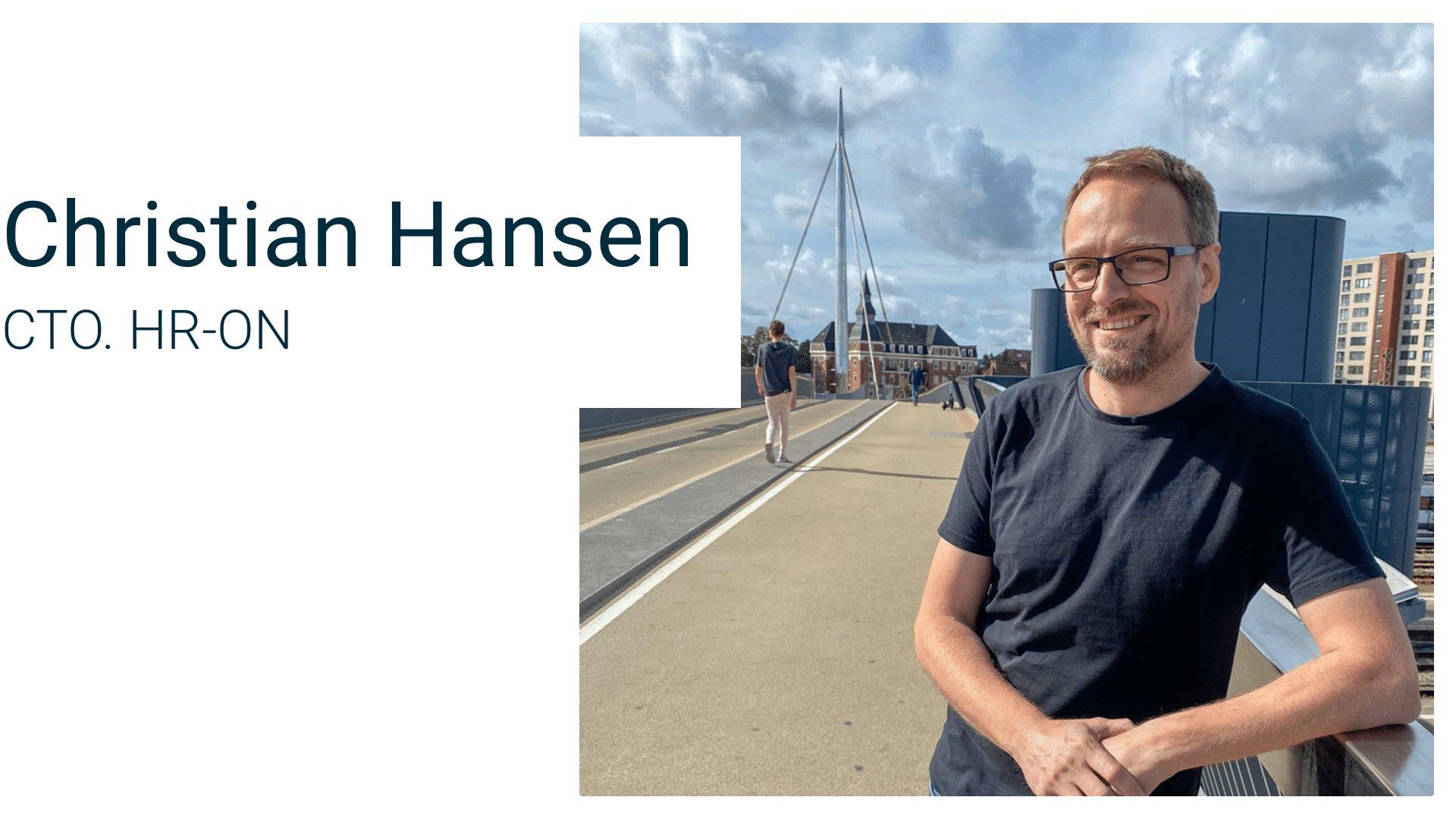 Christian Hansen, CTO hos HR-ON