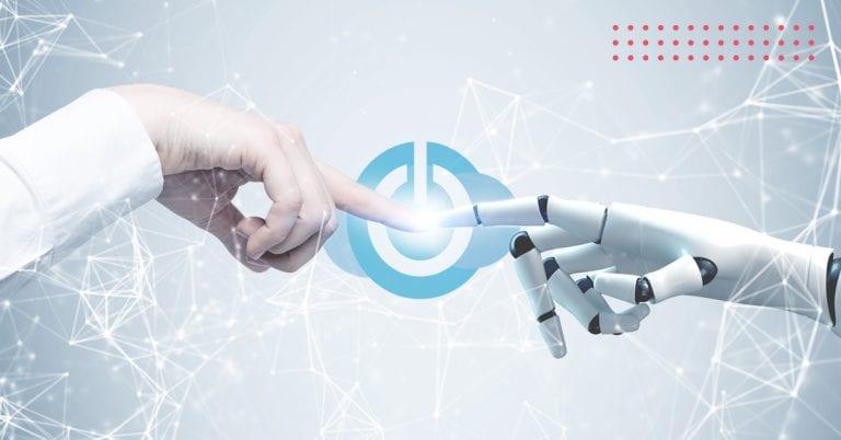 Menneske møder teknologi