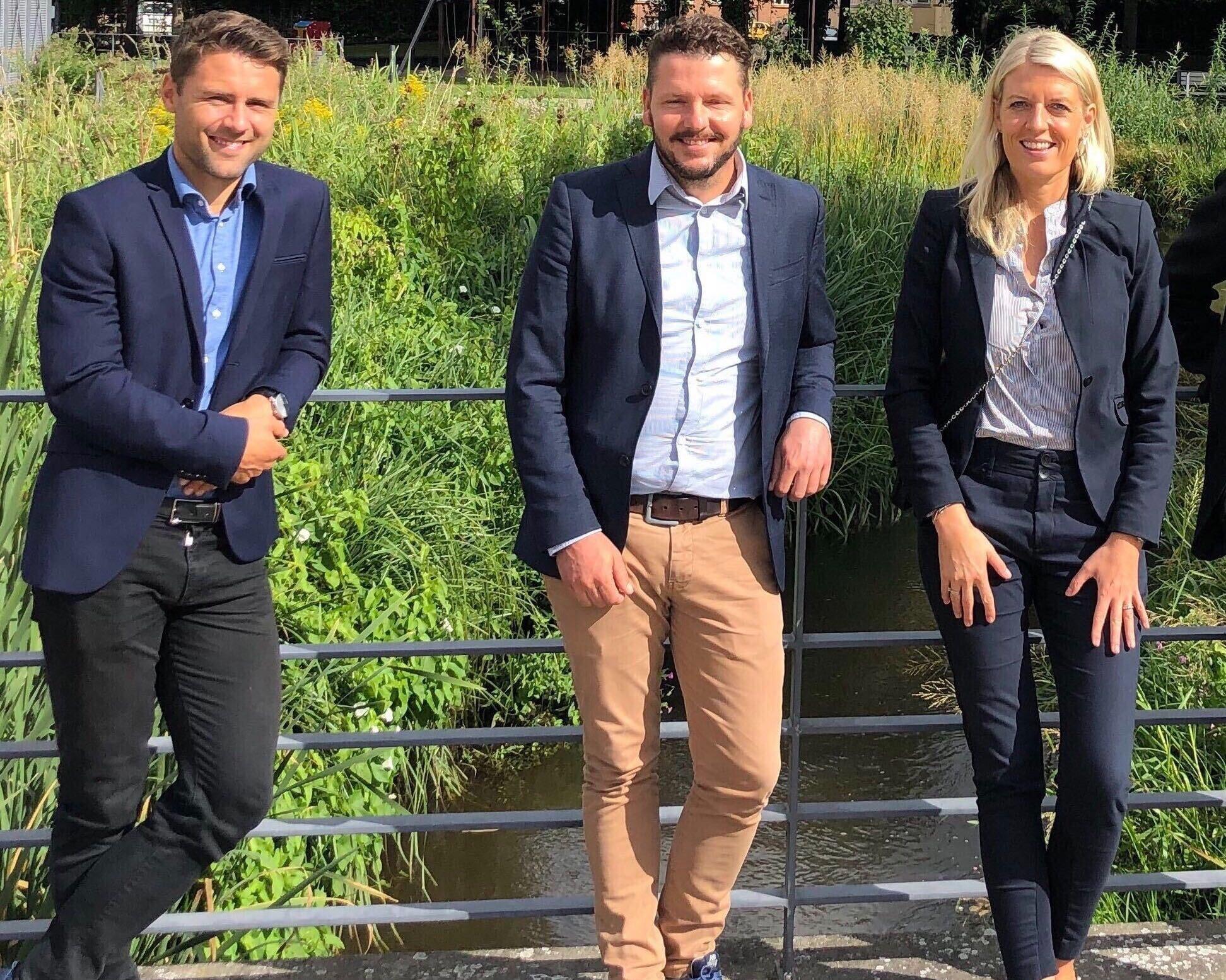 Rasmus, Jesper og Lisbeth
