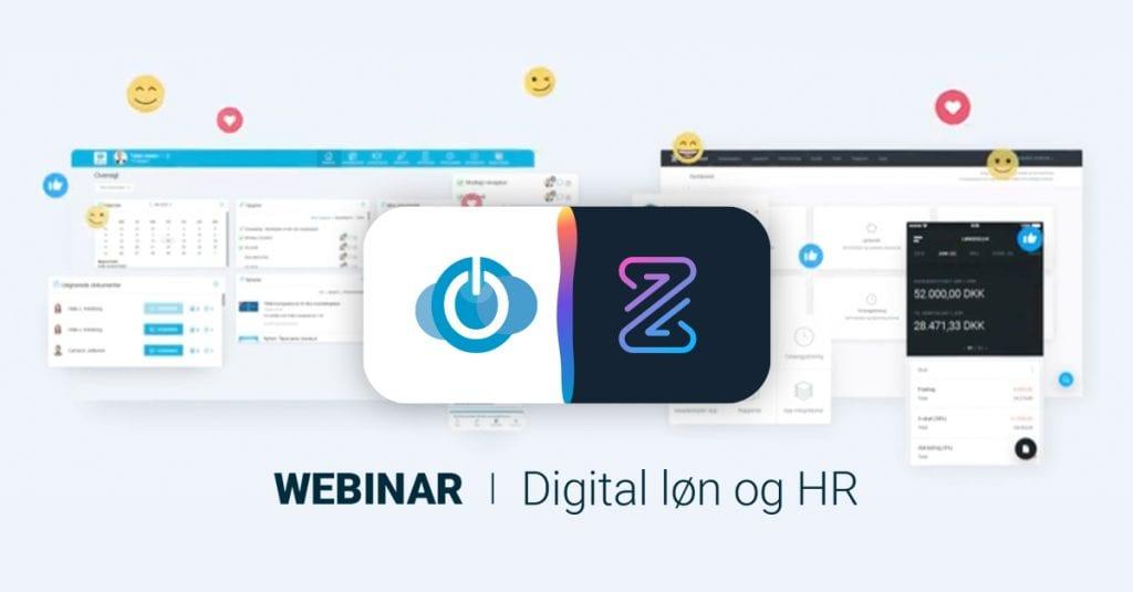 HR-ON og Zenegy går sammen om digital løn