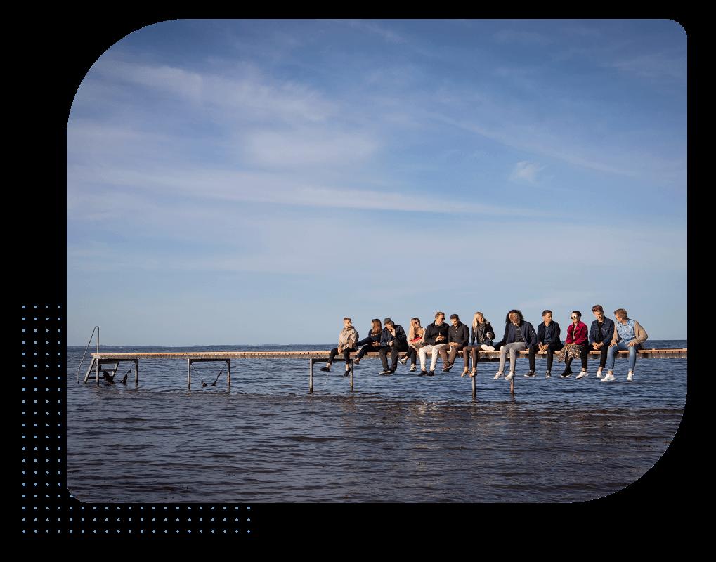 Team HR-ON møde på bro