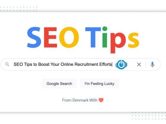 SEO tips for online recruitment