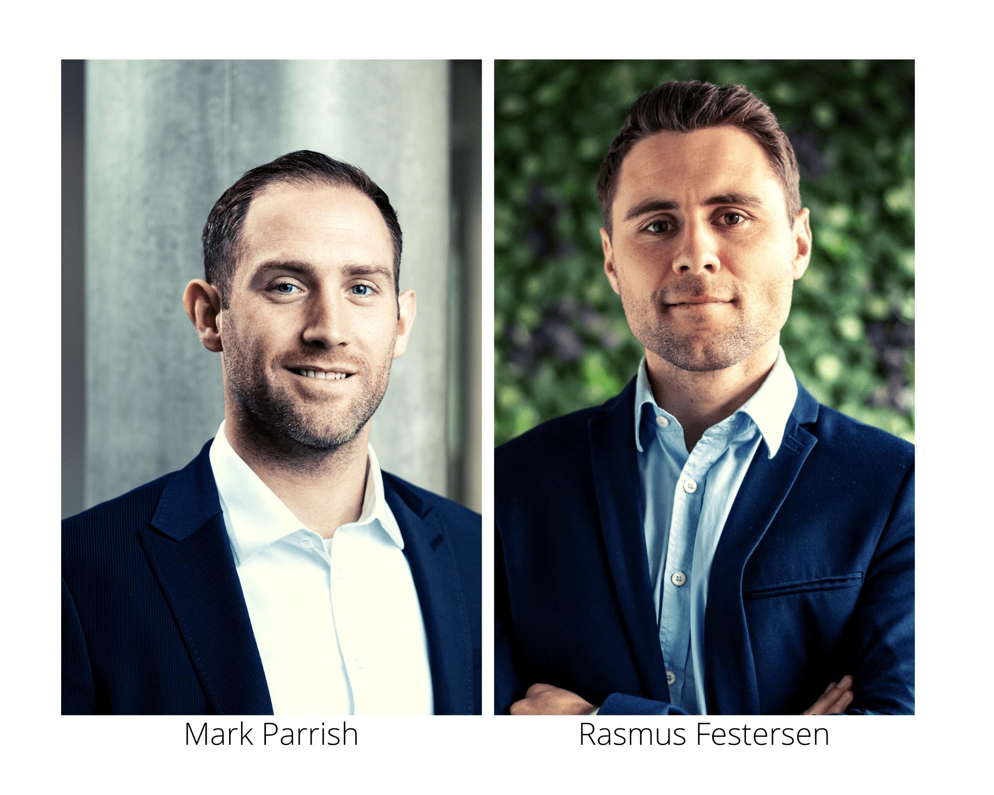 Mark Parrish fra Zenegy og Rasmus Festersen fra HR-ON